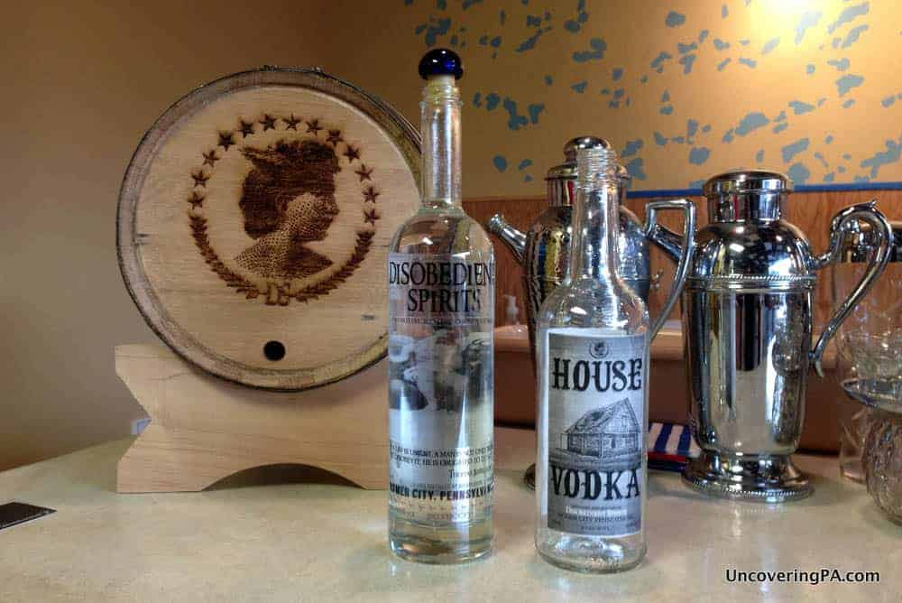 Visiting Disobedient Spirits in Homer City, Pennsylvania