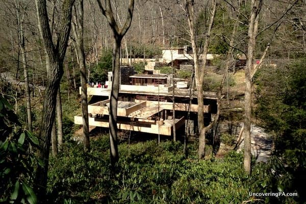 Fallingwater in PA is a great place to visit.