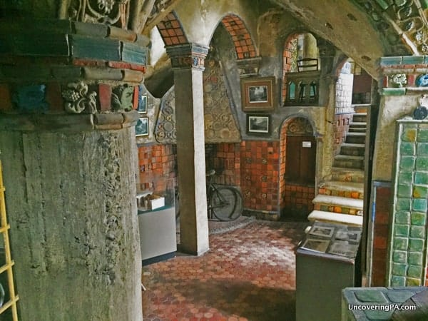 Visiting Fonthill Castle in Doylestown, Pennsylvania