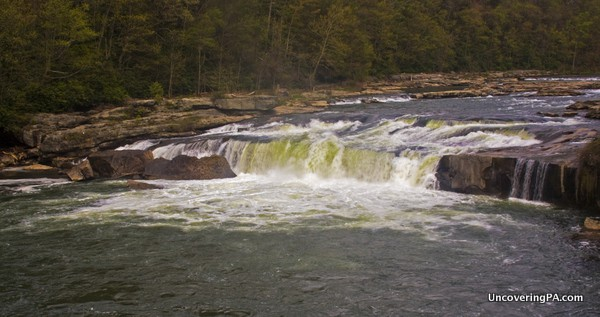 Natural beauty along the National Road: Ohiopyle State Park