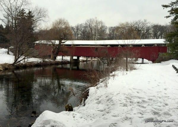 How to get to Bogert's Covered Bridge in Allentown, Pennsylvania.