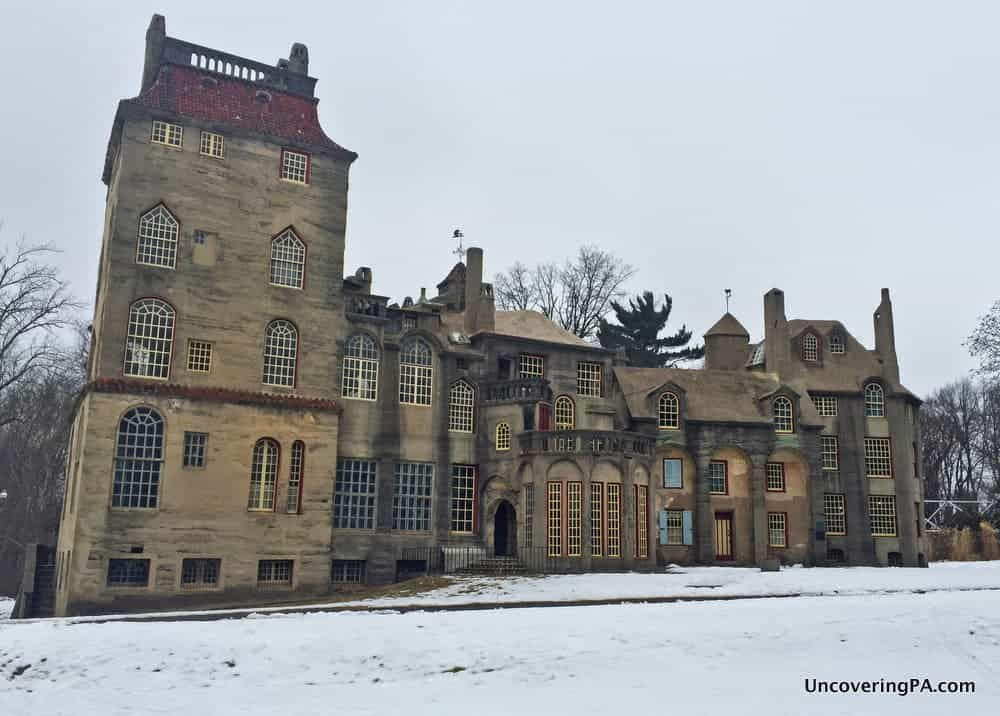 Uncoveringpa Visiting Fonthill Castle One Of