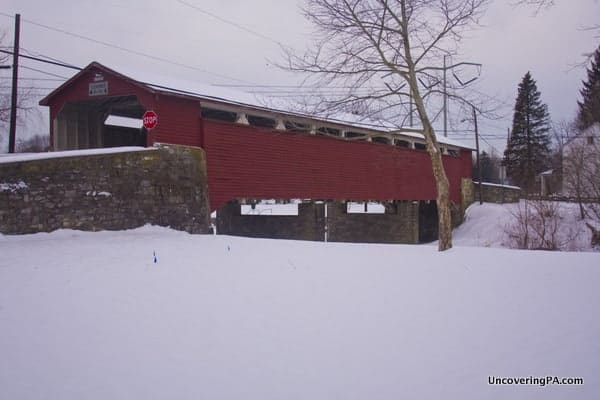 How to get to Wehr's Covered Bridge in Lehigh County, Pennsylvania.