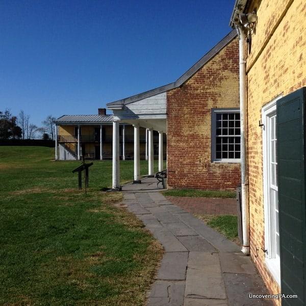 Visiting Fort Mifflin in Philadelphia, Pennsylvania