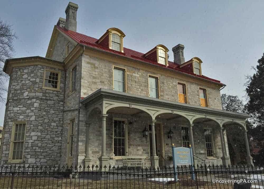 Visiting the Harris-Simon Mansion in Harrisburg, Pennsylvania