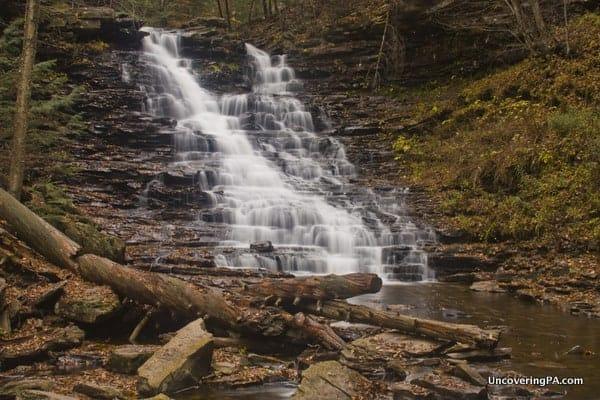 F.L. Ricketts Falls in Glen Leigh