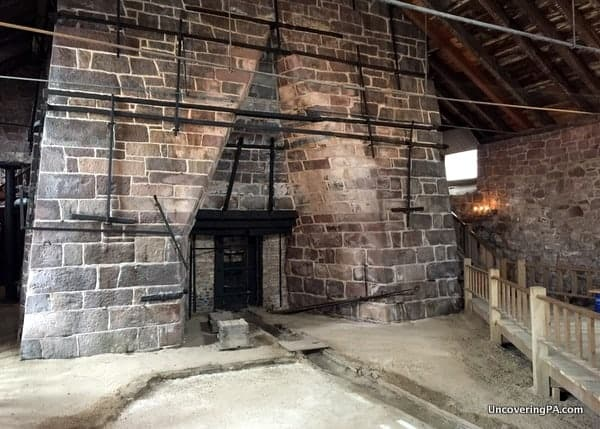 Visiting Cornwall Iron Furnace in PA