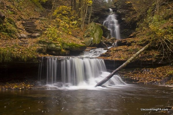 Ozone Falls in Ricketts Glen State Park
