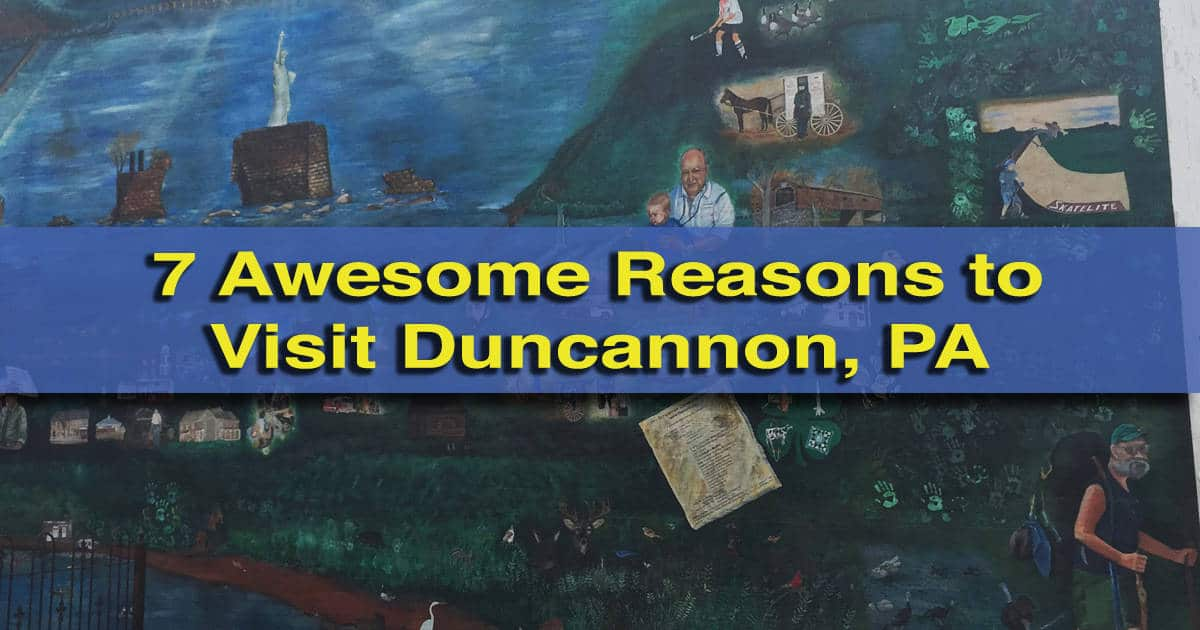 Things to do in Duncannon, PA