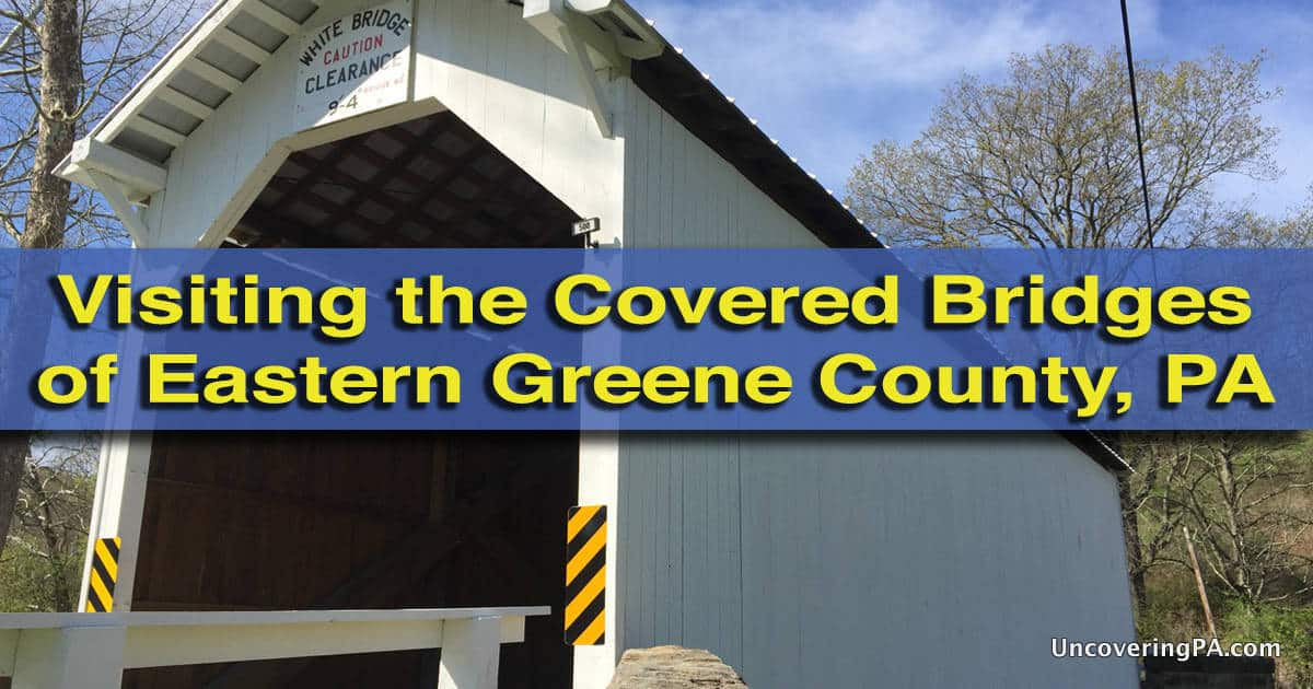 How to get to the covered bridges of Greene County, PA