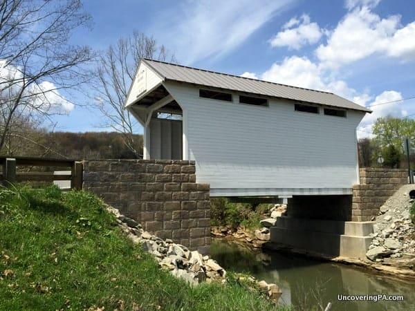 Lippincott Covered Bridge in Greene County, PA