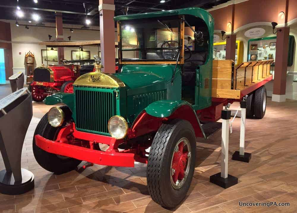 Visiting the Mack Truck Museum in Allentown, PA