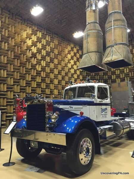 Touring the Mack Truck Museum in Allentown, PA