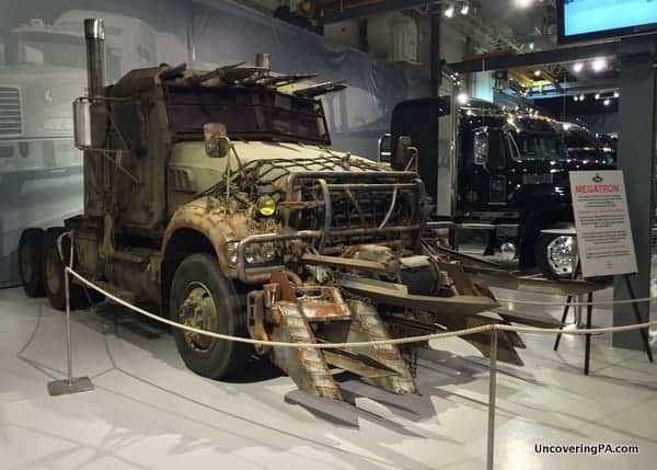 Megatrong at the Mack Truck Museum in Allentown, PA