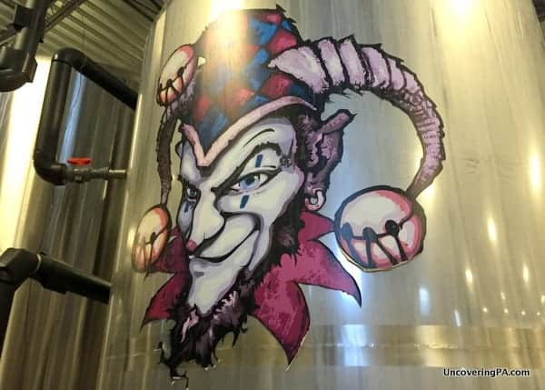 Weyerbacher Brewery Tour in the Lehigh Valley