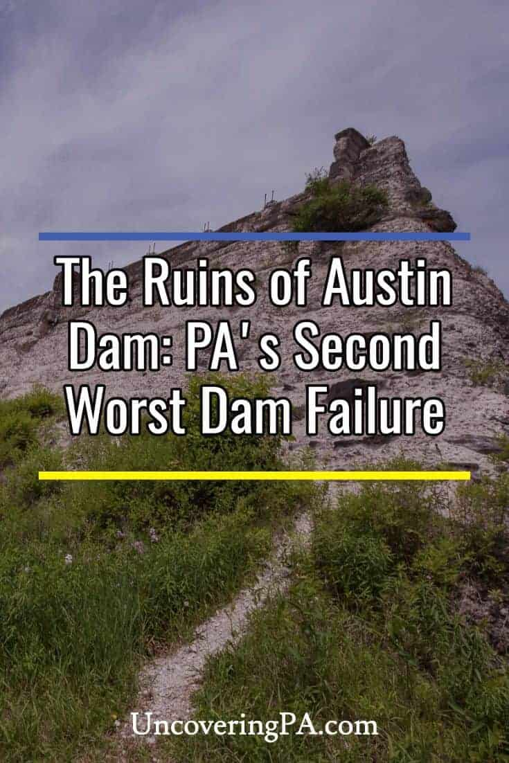 Visiting Austin Dam in Potter County, Pennsylvania #abandoned