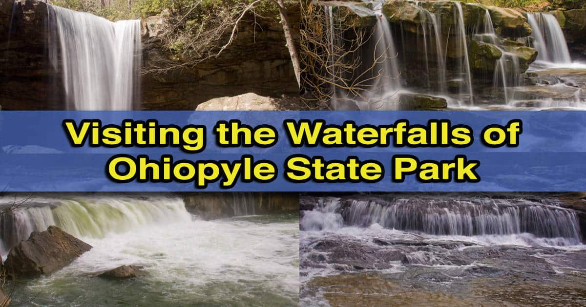 How to get to the waterfalls of Ohiopyle State Park in Pennsylvania's Laurel Highlands