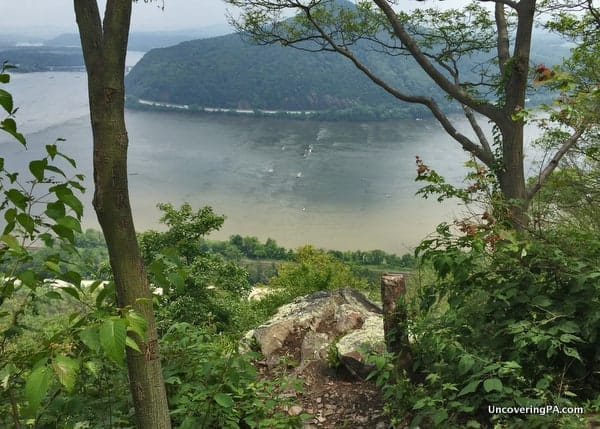Cove Mountain Overlook near Duncannon Pennsylvania