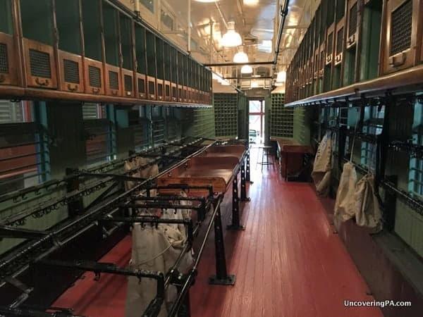 Mail Train Car Steamtown National Historic Site Scranton Pennsylvania