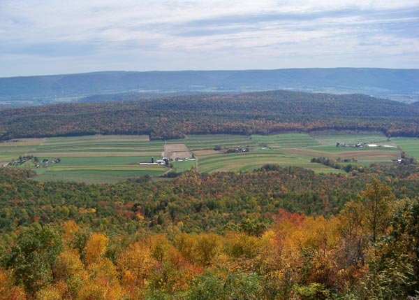 View-from-Jacks-Mountain-of-Big-Valley PA
