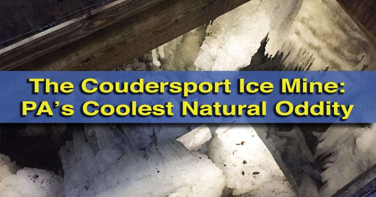 Visiting-the-Coudersport-Ice-Mine-in-Sweden-Valley-PA