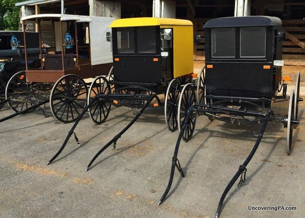Amish Buggies in MIfflin County PA