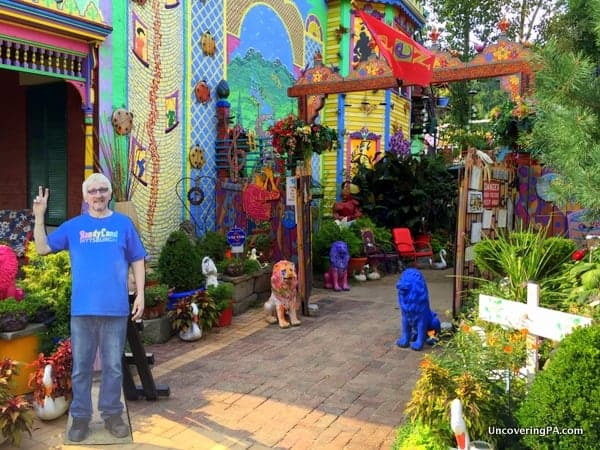 Entrance to Randyland Pittsburgh PA