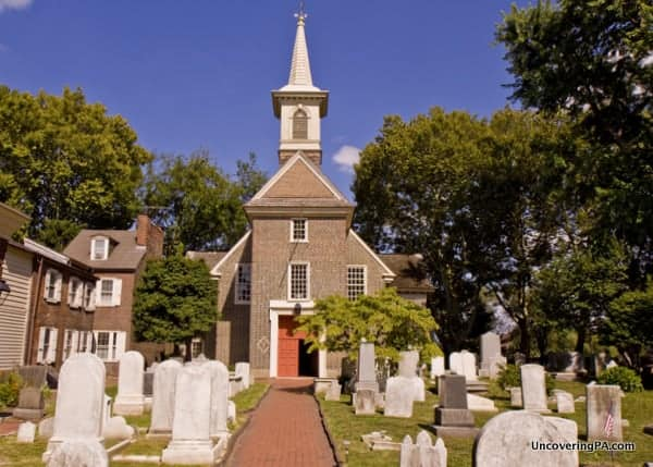 Visiting Gloria Dei Church Philly