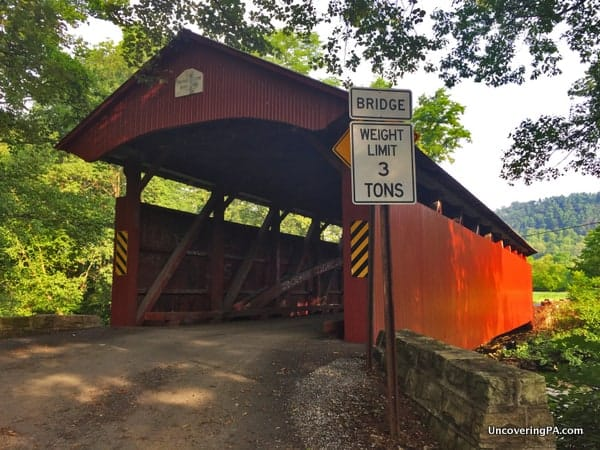 Keefer Station Covered Bridge Northumberland County PA