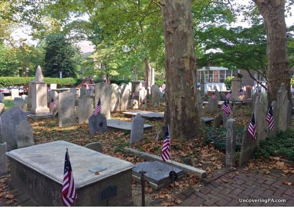 Old Pine Street Presbyterian Church Graveyard National Treasure