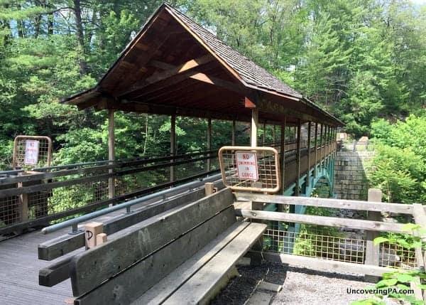 Paul Kanjorski Covered Bridge in Nay Aug Park, Scranton, PA