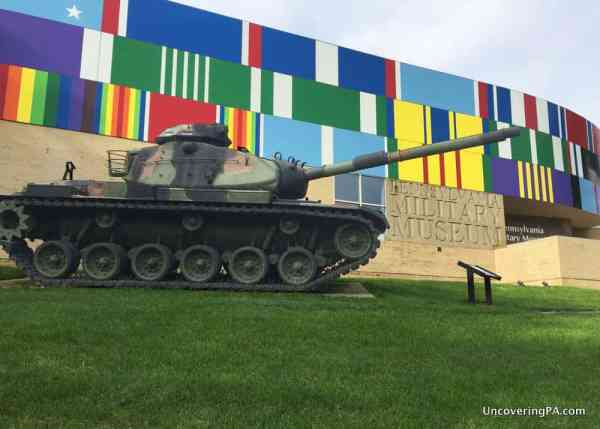 Tank outside PA Military Museum in Boalsburg, Pennsylvania.