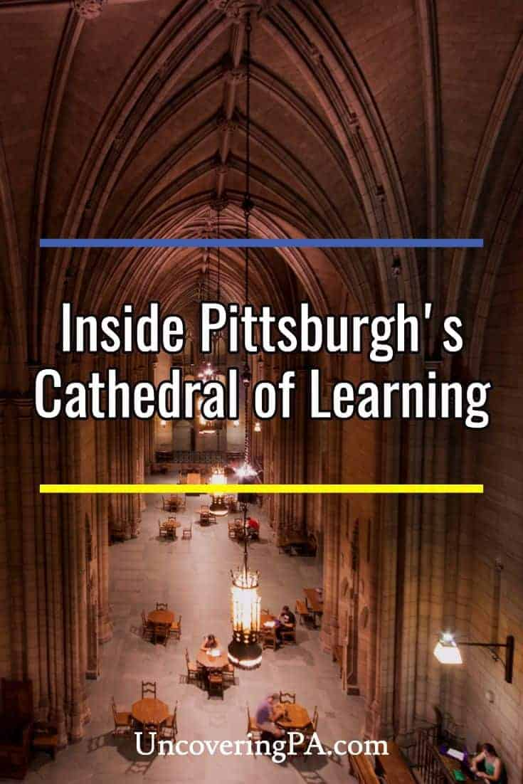 Exploring the Amazing Beauty, History, and Culture of Pittsburgh's Cathedral of Learning #Pennsylvania