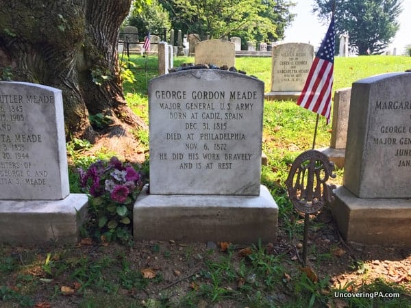 General Meade Grave Laurel Hill Cemertery Philadelphia PA