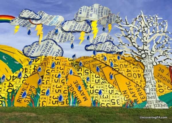 PennDot Sculpture Garden Meadville PA