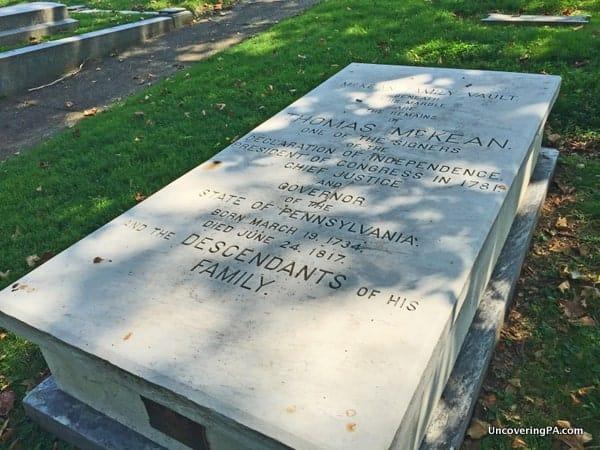 Thomas McKean Grave Laurel Hill Cemetery Philadelphia
