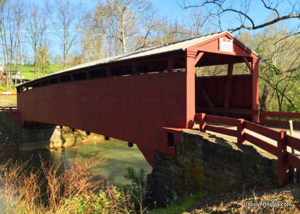 Bells Mills Covered Bridge Westmoreland County PA