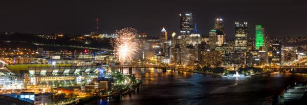 Best places to watch Fireworks in Pittsburgh: West End Overlook