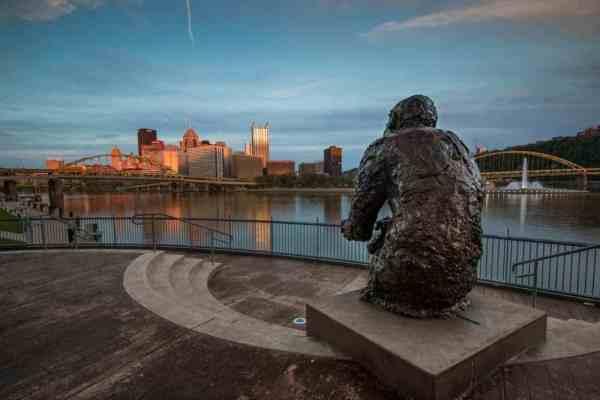 Best views in Pittsburgh: Mr. Rogers Statue