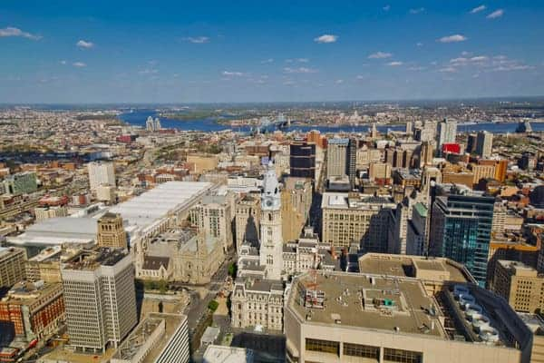 Best Photo Spots in Philadelphia: One Liberty Observation Deck