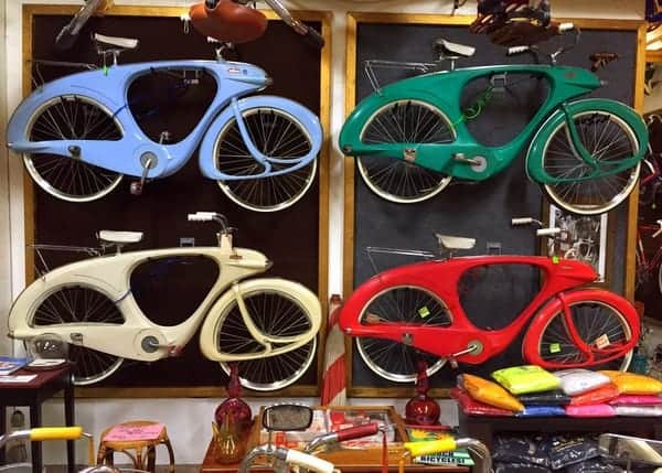 Bowden Spacelander at Bicycle Heaven in Pittsburgh, Pennsylvania
