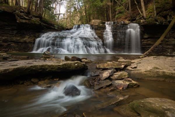 Freedom Falls near Kennerdell, Pennsylvania.