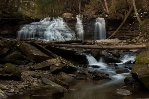 Freedom Falls near Emlenton, Pennsylvania