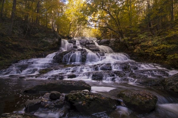 UncoveringPA's Top Pennsylvania Travel Photos of 2015: Indian Ladder Falls, Pike County