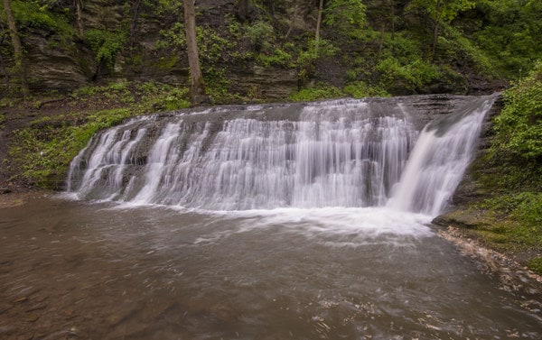 Lower East Park Falls in Connellsville, PA