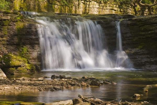 Upper East Park Falls in Connellsville, Pennsylvania