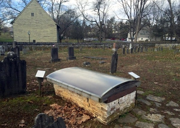 Conrad Beissel Grave at Ephrata Cloister in Lancaster County, Pennsylvania