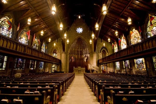 Visiting First Presbyterian Church in Pittsburgh, Pennsylvania
