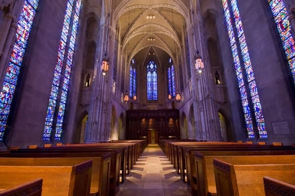 Heinz Memorial Chapel in Pittsburgh, PA