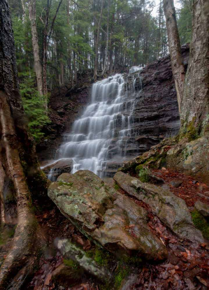 Buttermilk Falls in Luzerne County PA Pennsylvania